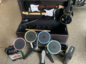 Xbox 360 with Rockband & Other Games