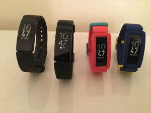 Fitbit watches (display models)
