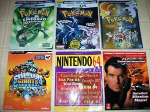 Strategy Guides for GBA DS N64 PS1 PS2 360
