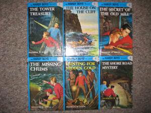 Hardy Boys 1992 edition #1-6