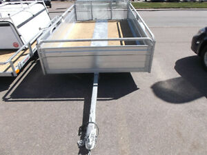 new 5.5ft by 10.4 ft galvenized tilt trailer for sale amherst ns