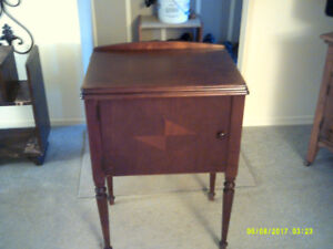 Sewing Machine Cabinet only  Great Shape for its year.