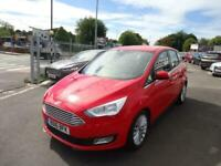 2016 FORD C MAX TITANIUM AUTOMATIC EURO 06 ONLY 11K MILEAGE 1.5 TDCI 0 FORMER