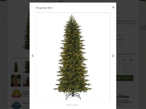 9ft Christmas Tree with realistic tips
