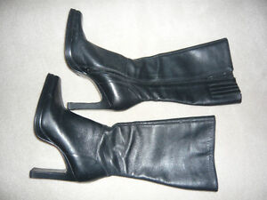 Leather Steve Madden boots