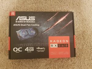 ASUS AMD RX560 4GB graphics card