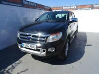 2013 62 FORD RANGER 2.2 LIMITED 4X4 DCB TDCI 1D AUTO 148 BHP DIESEL