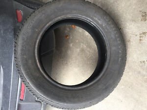 4 Uniroyal Tiger Paw Ice & Snow II Winter Tires Almost Brand NEW Kitchener / Waterloo Kitchener Area image 3