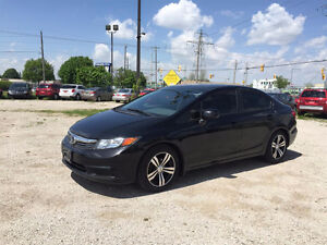 2012 HONDA CIVIC ★ ONE OWNER ★NEW RIMS & TIRES ★ AUX PORT