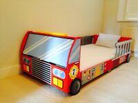 Immaculate KidKraft fire truck toddler bed