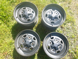 Can am 12 inch wheels .$100 Or best offer