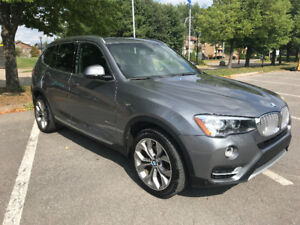 BMW X3 2016-2.8i Lease Takeover  $579.99 plus taxes Navigation