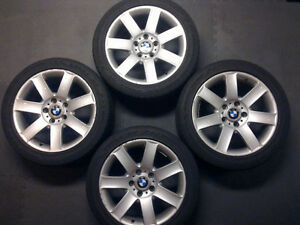 4 x 17'' Style 44 OEM BMW Mags and tires