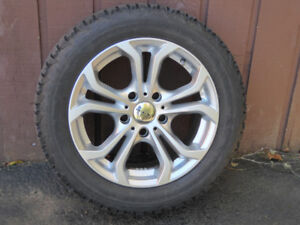 BMW Alloy Rims and Snow Tires