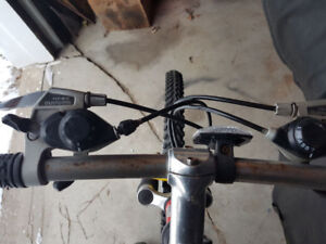 Mountain bike 18 speed
