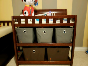 Nursery Furniture Set and Bedding