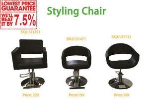 Salon/Styling/Barber Chair/Stool, Shampoo Unit, From$69