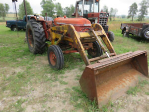 Nuffield 4/65 loader Tractor