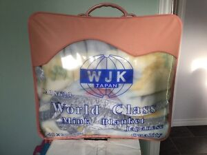 World Class Mink Blanket - New -  For twin bed @ $30.00 each.