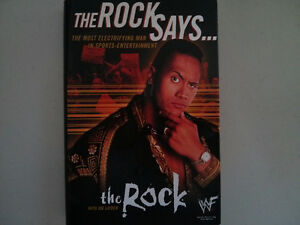 WWE WWF book The Rock $5