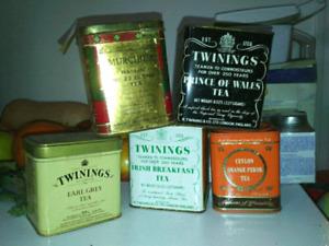 Older tea cans for trade!