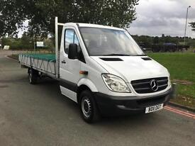 Mercedes Sprinter 313 3.5T XLWB Extra Long 6m (19ft 10ins) Load Length Dropside