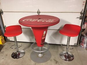 Cola-cola indoor outdoor table