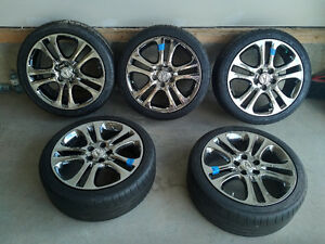 225/40ZR18 Acura A-Spec Rims with Michelin Pilot Sport with TPMS