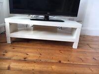 IKEA white TV unit