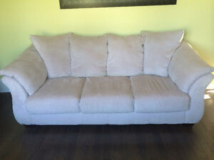 Suede Couch & Loveseat Windsor Region Ontario image 1