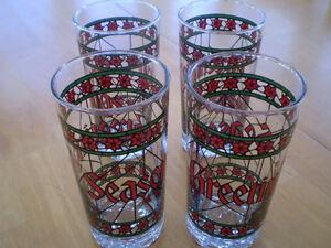 VINTAGE CHRISTMAS GLASSES Windsor Region Ontario image 1