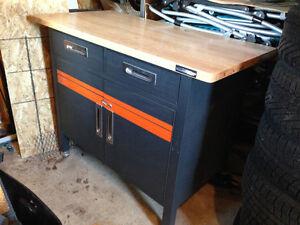 etablis,avec logo harley ,ideale comme coffre de garage