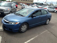 2009 Honda Civic DX - FINANCE for ONLY 79 bi weekly tax in