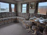 2 bedroom 6 berth static caravan for sale in Kent next to the beach!