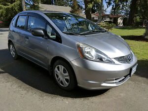2009 Honda Fit DX-A Sedan