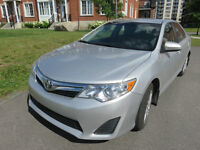 Toyota Camry 2012 avec seulement 26 250 Kms