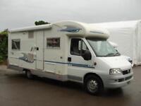 2006 Adria Coral 650SP 4 Berth Motorhome 2.8 Diesel