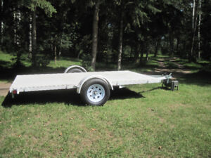 New Flat Bed Utility trailer 12'x7'