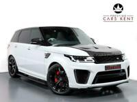 2018 Land Rover Range Rover Sport 5.0 V8 S/C 575 SVR 5dr Auto Estate Petrol Auto