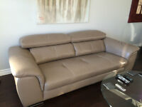 Butter Soft Leather Sofa for Sale