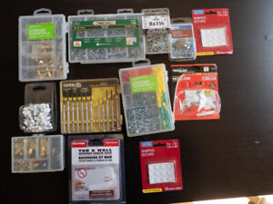 Miscellaneous Hardware (screws, clips, anchors, hooks, bumpers)