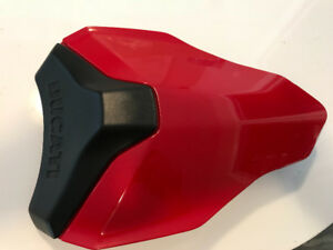 Ducati OEM Rear Passenger Seat Cover Cowl NEW gloss RED blk matt