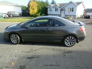 2009 Honda Civic SI Coupe (2 door)
