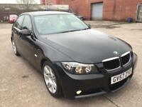 BMW 320d M Sport 2.0 DIESEL,HPI CLEAR,XENON,CREAM LEATHER SEATS,CRUISE,YEAR M.OT