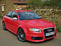 2006 AUDI RS4 4.2 V8 SALOON. OUTSTANDING EXAMPLE !!
