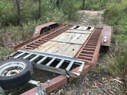 Heavy Duty Small Machinery / Car Trailer Hill Top Bowral Area Preview