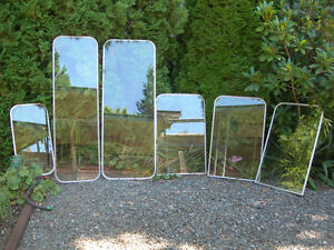 Glass Storm Window from RV or Trailer