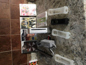 Wii system and PS3 games