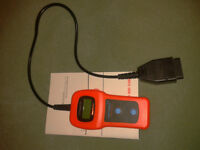 OBDII Memo Scanner.  Read and clear trouble codes