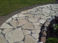 Flagstone and Wall Rock